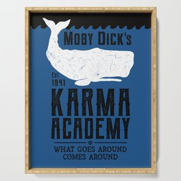 The Moby Dick Academy of Karma Serving Tray