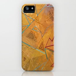 Gold on Gold iPhone Case