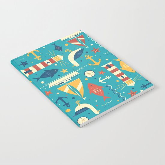 All At Sea Notebook