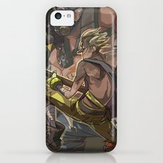 Death Growls and Punching The Guitar iPhone 5c Slim Case