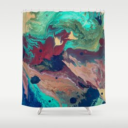 Universe at War Shower Curtain