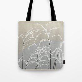 Kamisaka Sekka - Flowers of a Hundred Worlds - Moon and Grasses (1909) Tote Bag