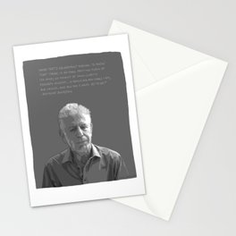 Anthony Bourdain Stationery Cards