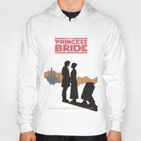 princess bride Hoodies featuring The Princess Bride by mattranzetta