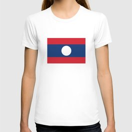 laos country flag T-shirt