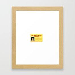 pprjbb Framed Art Print