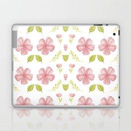 Beautiful Fashion Flower Pattern Art Laptop & iPad Skin
