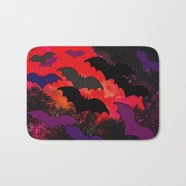 Bats In Flight Bath Mat