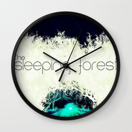 Final Fantasy VII - Sleeping Forest Tourism Tee Wall Clock