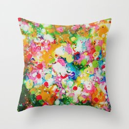 Full abstract Throw Pillow