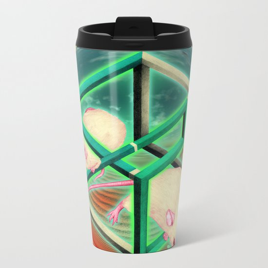 Life, as many people have spotted, is, of course, terribly unfair. Metal Travel Mug