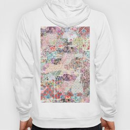 Las Vegas map Nevada Hoody