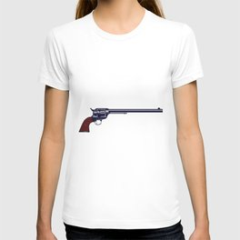 Long Barrel Six Gun T-shirt