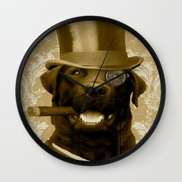 Dapper Emerson Wall Clock