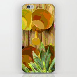 Gardening Helpers iPhone Skin
