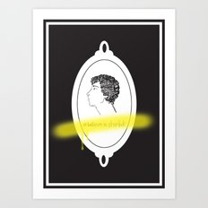 Believe in Sherlock Art Print