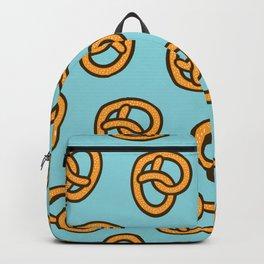 I Heart Pretzels Pattern Backpack