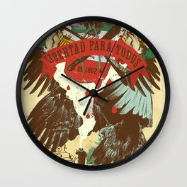 FREEDOM FOR ALL Wall Clock