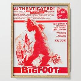Bigfoot Serving Tray