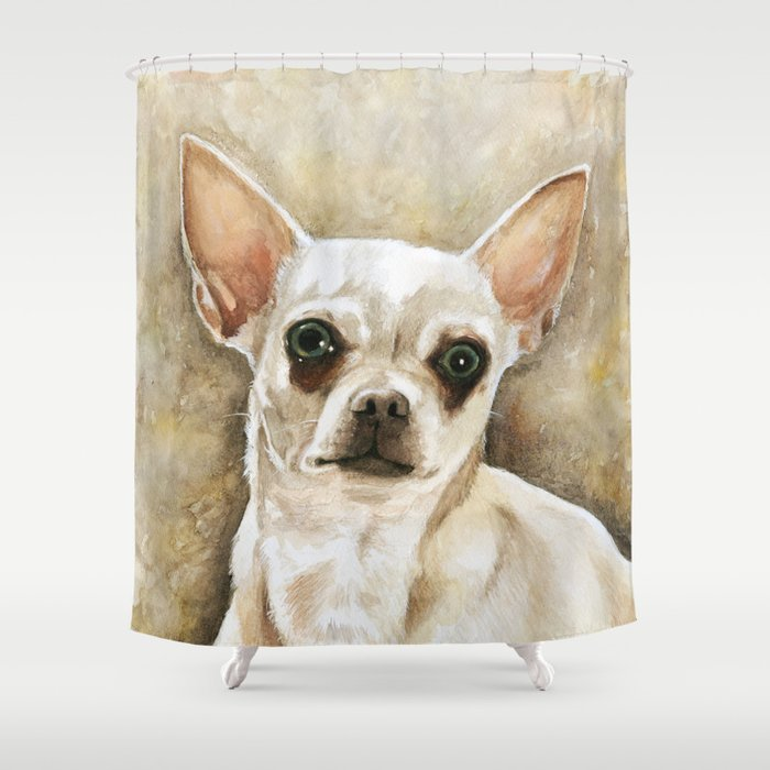 Chihuahua Shower Curtain By Lewy