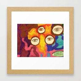 Eye C U Framed Art Print