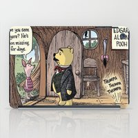 pooh iPad Cases featuring Edgar Allan Pooh by Kayla.Me95