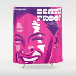 Quentin Tarantino's Plot Movers :: Death Proof Shower Curtain