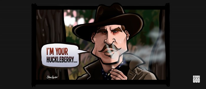 I'm Your Huckleberry (Tombstone) Coffee Mug
