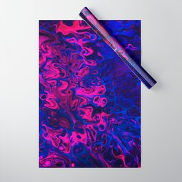 Blacklight Wrapping Paper