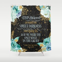 A Court of Frost and Starlight - Sarah J Maas Shower Curtain