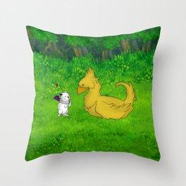 Final Friendship Throw Pillow