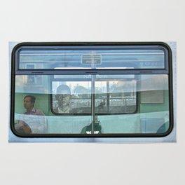 Multi plans window Rug