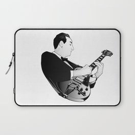 LES PAUL House of Sound - WHITE GUITAR Laptop Sleeve