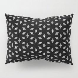 Ethinic Petals Dark Pillow Sham
