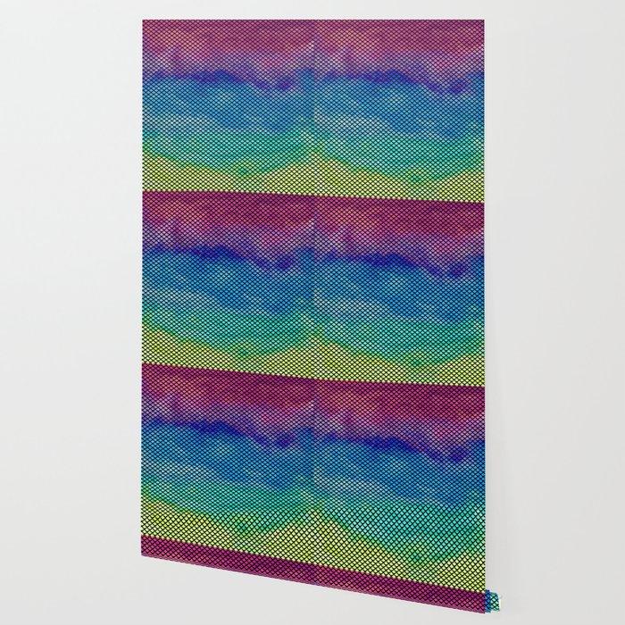 Rainbow Mermaid Tail Wallpaper