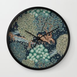 William Morris The Brook Wall Clock