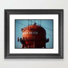 Beach Haven Framed Art Print