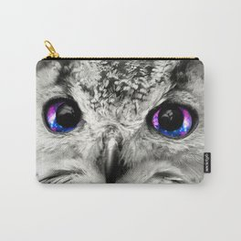 Galaxy Owl Eyes Carry-All Pouch