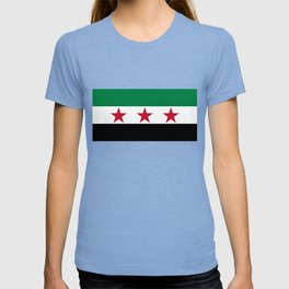 Independence flag of Syria T-shirt
