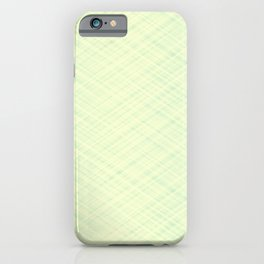 Light beige texture. iPhone Case