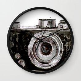 Vintage Camera Wall Clock