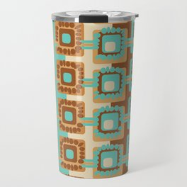 60's Retro by Jezli Pacheco Travel Mug