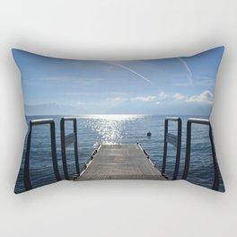 Dock to Heaven Rectangular Pillow