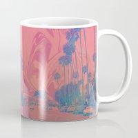 california Mugs featuring California by Calepotts