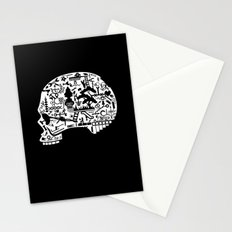 Icon Skull Stationery Cards