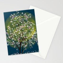 Moonlit Magnolia Stationery Cards