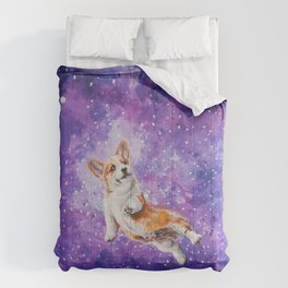 Space Corgi Comforters