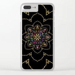 Mandala of Wishes Clear iPhone Case