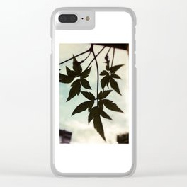 Together - Leaves Silhouette #1 #art #society6 Clear iPhone Case