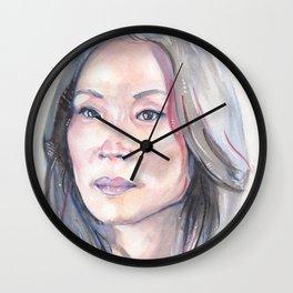 Joan Watson Wall Clock